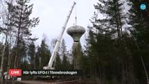 Swedish Air Force Futuro - Stratjara - helahalsingland.se Video - 042116 - Lift 5