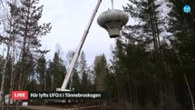 Swedish Air Force Futuro - Stratjara - helahalsingland.se Video - 042116 - Lift 7