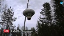 Swedish Air Force Futuro - Stratjara - helahalsingland.se Video - 042116 - Lift 8