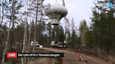 Swedish Air Force Futuro - Stratjara - helahalsingland.se Video - 042116 - Lift 9