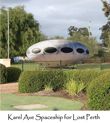Karel Ave Spaceship For Lost Perth