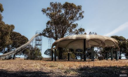 Futuro Sections? - Puzzle Park, Murray Bridge, SA - Matt Philips Imagery
