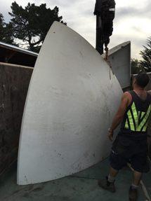 Nick McQuoid - White Futuro Heading To Restoration Facility - March 2016 - 1