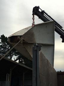 Nick McQuoid - White Futuro Heading To Restoration Facility - March 2016 - 2