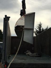 Nick McQuoid - White Futuro Heading To Restoration Facility - March 2016 - 3