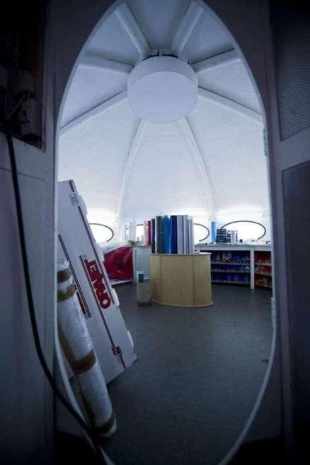 Futuro, Orebro, Sweden - Interior - Credit ne.se