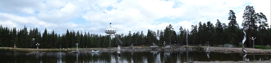 Futuro, Poytya, Finland - Panoramic Shot Taken 071014