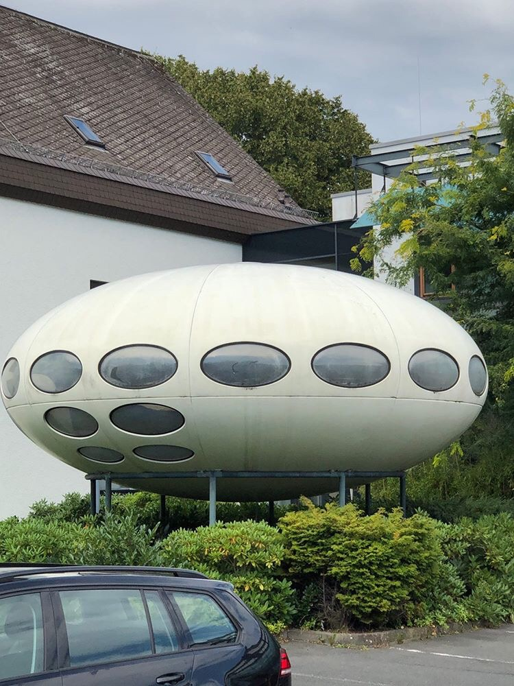 The Futuro House Taunusstein Germany Information