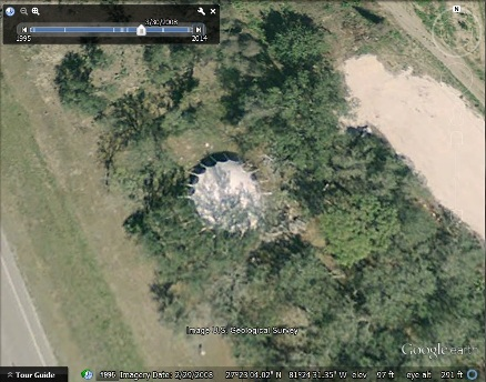 Futuro?, Coober Pedy, Google Earth 1, 100609 Imagery