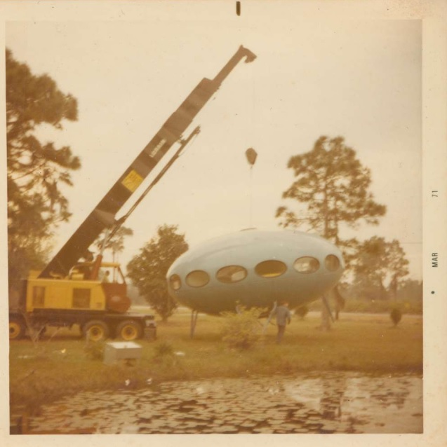 Futuro Arriving On Semmed Street - Courtesy Of Tampa Bay Times and Bruce DeLong - 2