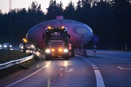 Swedish Air Force Futuro - Stratjara - Road Transport - 060216 - Daniel Sj�holm - 1