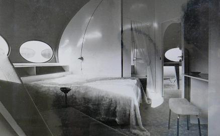 Three Futuro Bungalows In Belgium - Interior 1