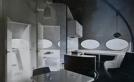 Three Futuro Bungalows In Belgium - Interior 2