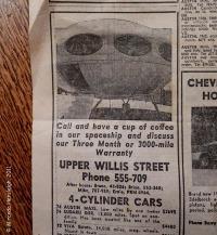 Futuro Newspaper Advertisment - Wellington New Zealand