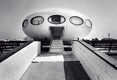 Pensacola Beach Futuro House Photoshopped Image Source