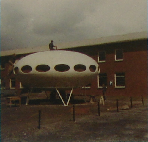 Futuro House - Unknown Image From Domus 861