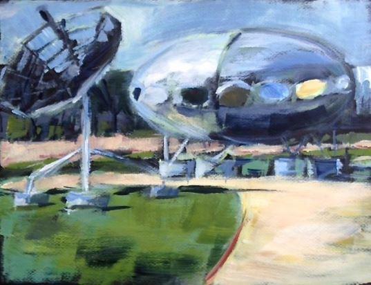 Futuro Painting - HollyJ26