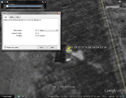 Futuro Myth - Harbor Springs - Google Earth Imagery 050794