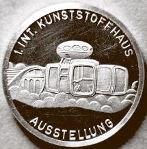 IKA Commemorative Medal Side 1