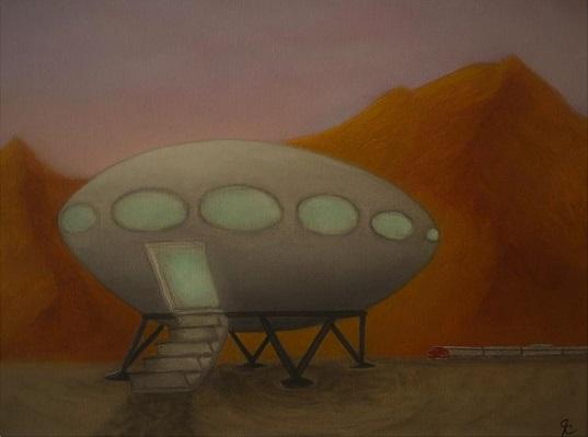 Futuro Painting - Jimmy Carender