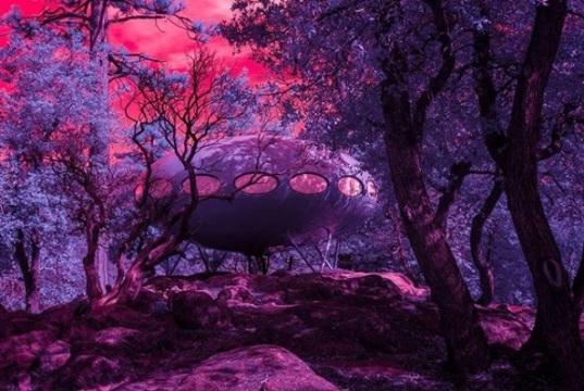 Idylwild Futuro By Kate Ballis - Infra Realism Series