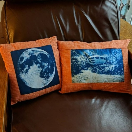 Futuro Pillow by susanmarie.b
