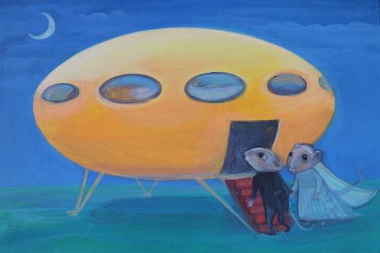 Futuro Painting - Pepita