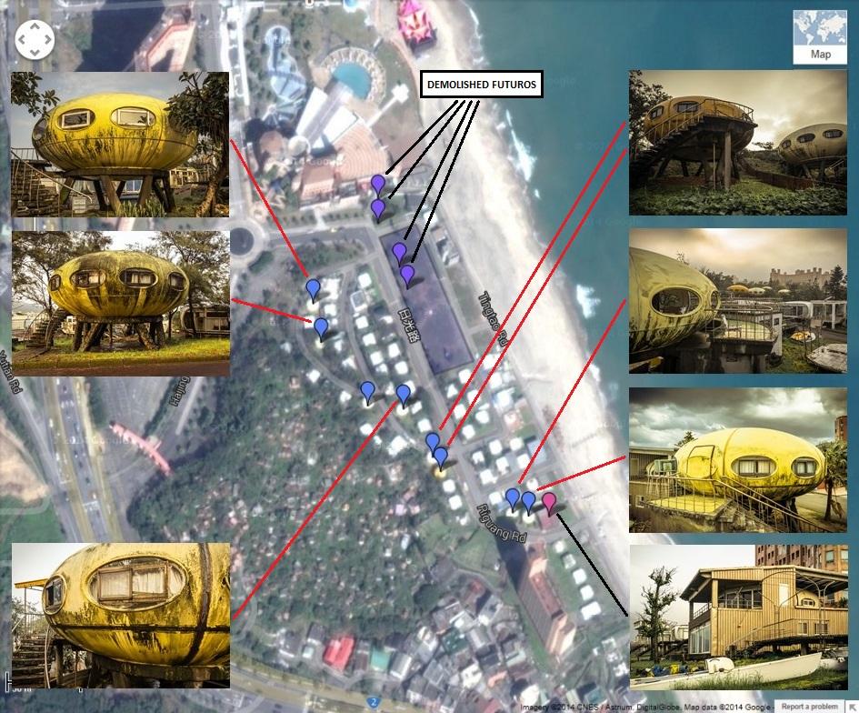 Wanli Futoro Map
