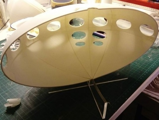 Futuro Model - Stephen J. Ward - 2
