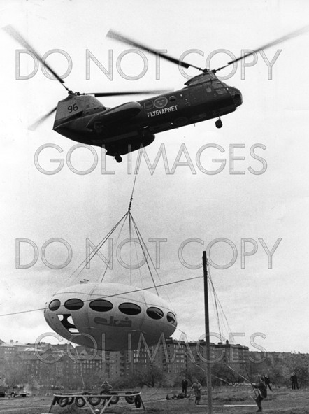 Futuro House - Helicopter Transport Stockholm Area 102269