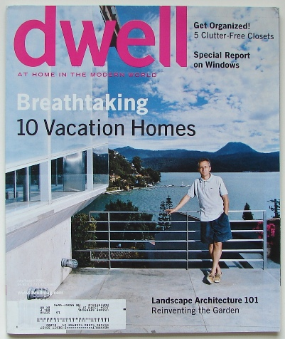 Dwell - July/August 2004 Cover