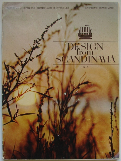 Design From Scandinavia 3 1970 Cover