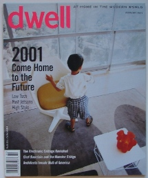 Dwell February 2001 Cover