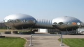 Futuro House, Carlisle, Ohio, USA