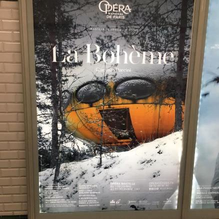Paris Opera - La Boheme